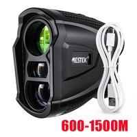 Mestek 600M Yd Golf telémetro láser para Golf telémetro cinta de medición distancia Medidor láser Metro Golf telémetro para la caza