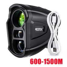 Mestek 600M Yd Golf Laser Rangefinder Golf Rangefinder Measuring Tape Distance Meter Laser Meter Golf Rangefinder for Hunting