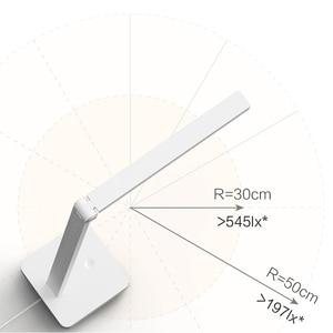 Image 3 - New XIAOMI MIJIA Table Lamp lite Mi LED read desk lamp student fold table light indoor Bedside night light 3 brightness modes