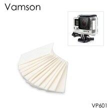 Vamson для GoPro аксессуары противотуманные вставки 12 шт. в комплекте для GoPro Hero 7 6 5 4 3+ для Xiaomi для SJCAM Спортивная камера VP601