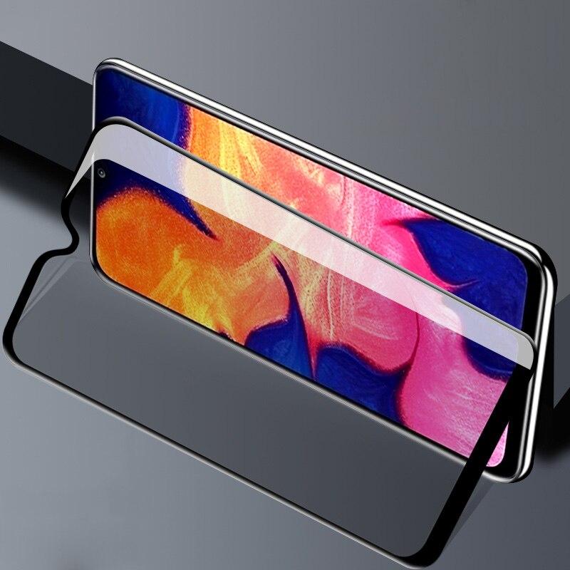 Vidrio de seguridad para Samsung A50, vidrio Protector de pantalla para Samsung Galaxy A50 A10 A20 A30 A40 A60 A70 A80, película antiespía para teléfono 3 protectores de cristal para huawei honor 10i tempered armor onor 10 i pantalla huavei huaway honor10i xonor i10 hauwei