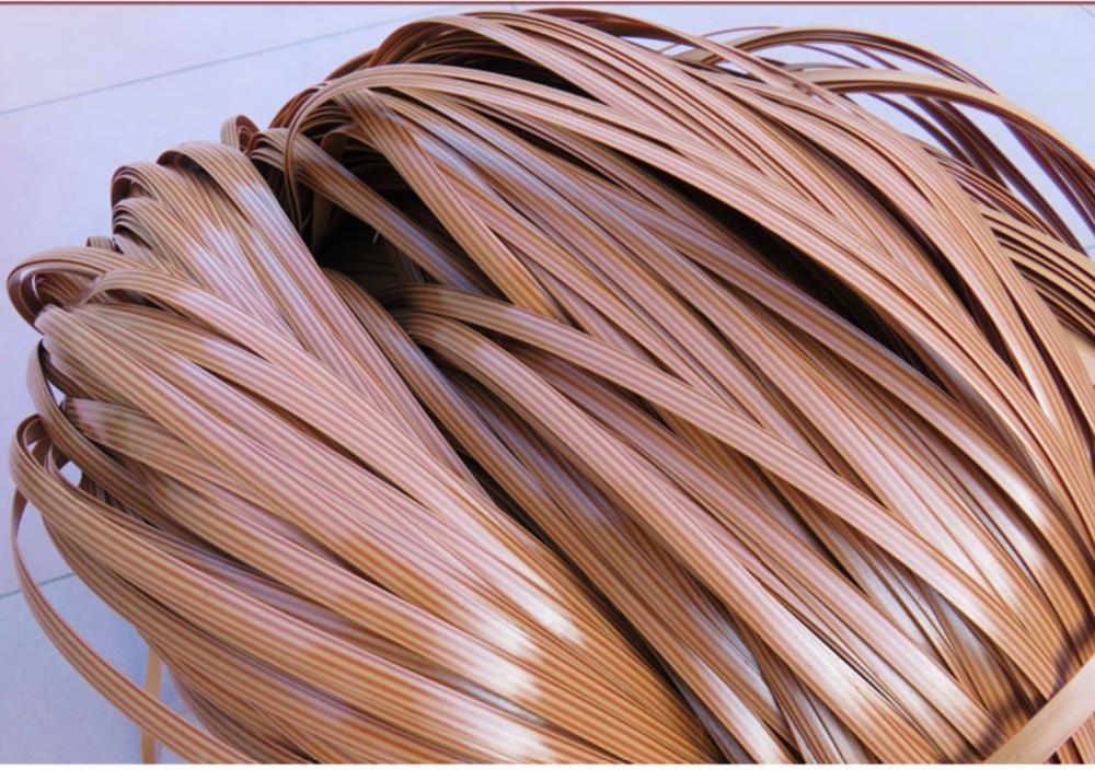 70Meters/lot  Width:8mm. Thickness:1.2mm Simulation Rattan Knit Handmade Cane Chair Repair Plastic PE PVC Vines Rattan