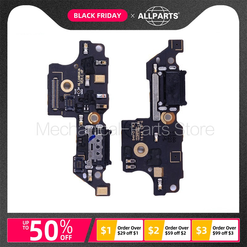 ORIGINAL USB Charger Flex Cable For HUAWEI MATE 9 USB Charging Dock Port Flex Cable With Microphone Mic Replacement Parts