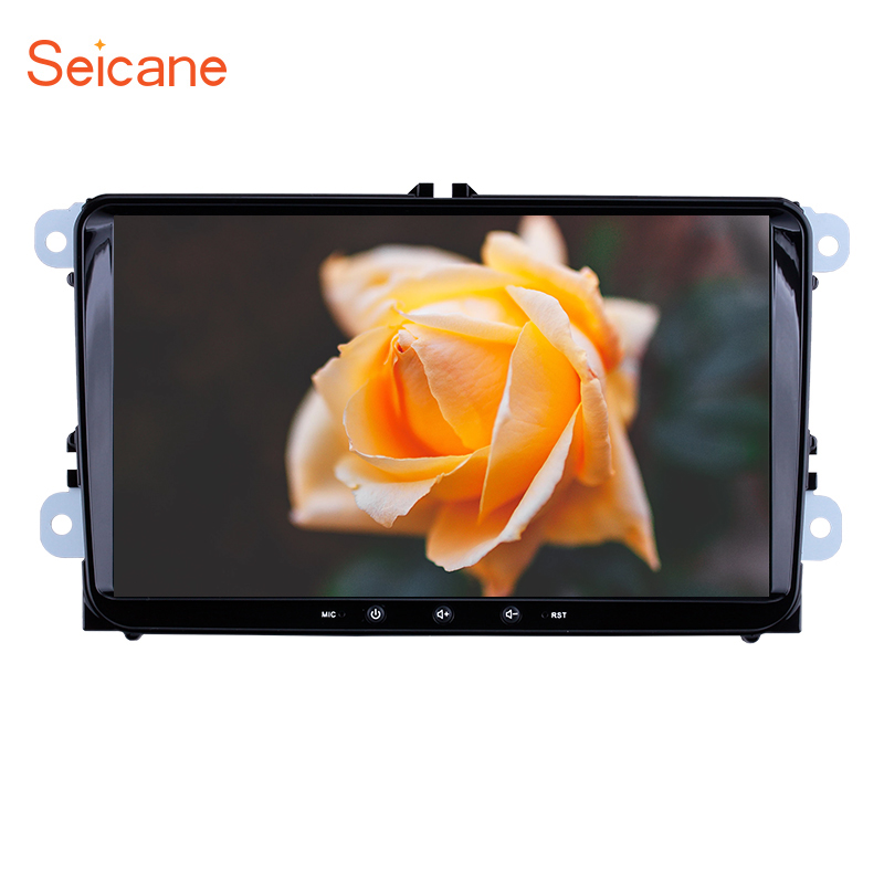 Seicane Multimedia-Player Car-Radio 9inch Android 8.1 Vw/passat Polo/golf-5 GPS 6 title=