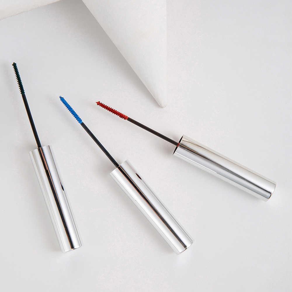 Cils friser coloré Mascara noir liquide stylo maquillage Mascaras yeux maquillage cils épais cosmétique outil allongement brosse