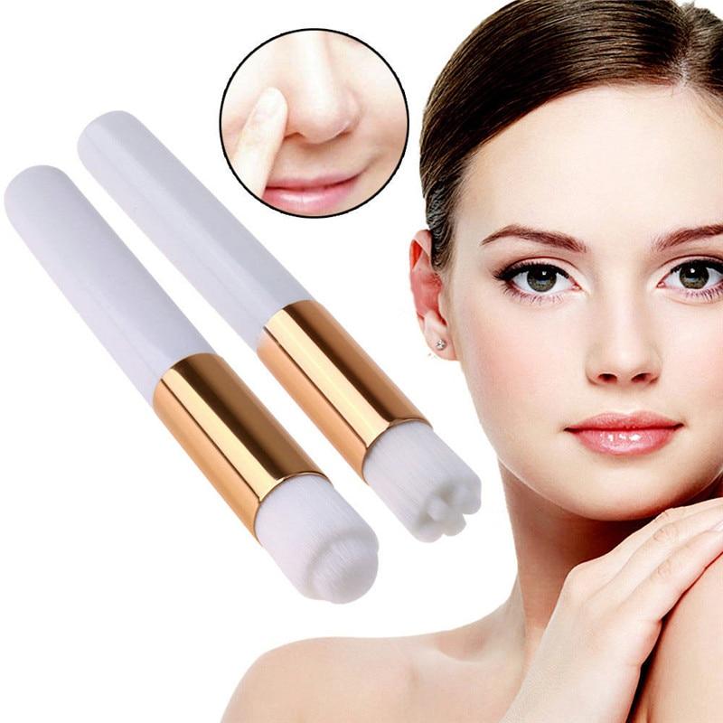 10 pcs profissional cilios escova de limpeza lash shampoo escova sobrancelha nariz cravo escova de limpeza