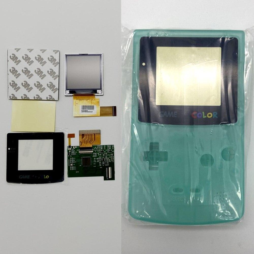 GBC LCD de alto brillo y nueva carcasa para Gameboy Color, pantalla LCD GBC - 2