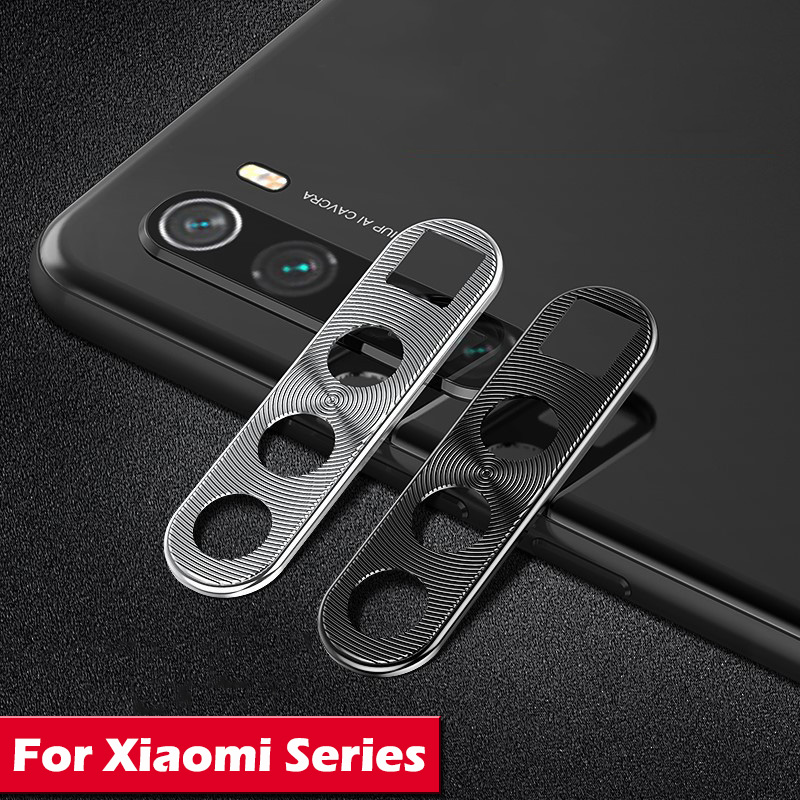 Metal Camera Lens Protector For Xiaomi Redmi Note 8T Note 8 Pro Mi Note 10 Mi 9 CC9 A3 Full Protection Anti-scratch Camera Cover