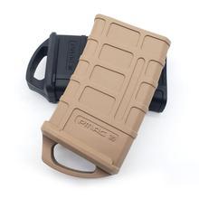 M4/M16 резиновая кобура охотничья тактическая резиновая сумка 5,56 маг Сумка для охоты на воду коробка игрушка патроны сумка