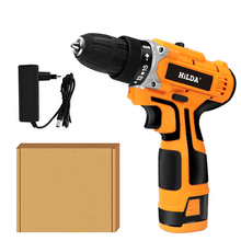 16.8V 340W Cordless Electric Screwdriver Mini Hand Drill Power Driver Drill For Drilling Tightening Screw Professional Tools