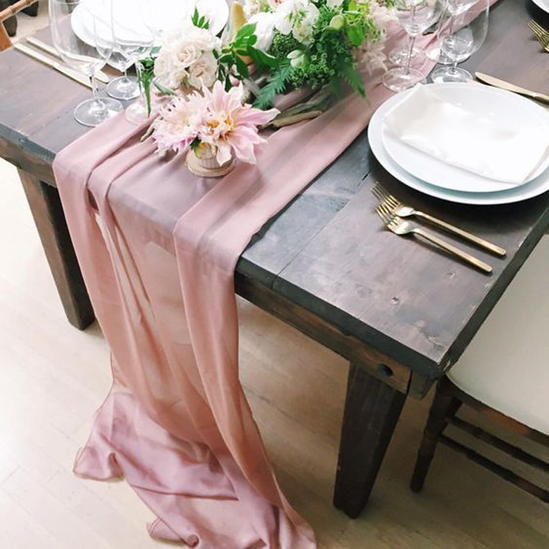 Solid Color Soft Chiffon Polyester Fabric For Woman Dress Clothes 2019 New Delicate Yellow/Lilac/Pink/Blue/White 50 Colors DIY