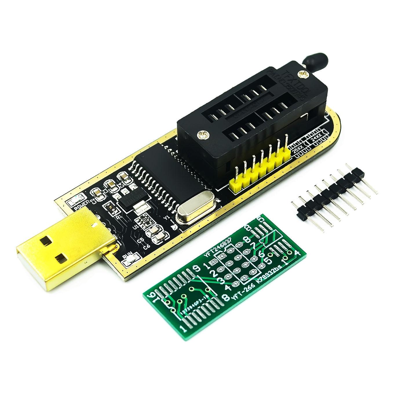 Ch341a 24 25 séries eeprom flash bios programador usb com software & driver