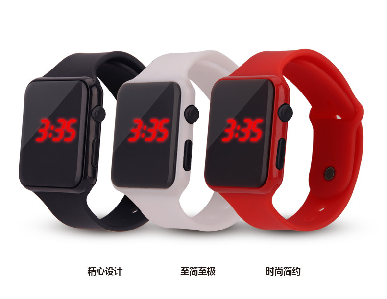 Children 2019 Fashion Watch Colorful LED Boy Girl Electronic Student Sport Watches Kids Clock Digital Wristwatch Watch