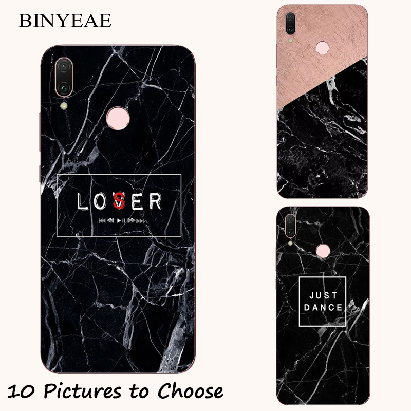 Black Marble stone soft Case For <font><b>Asus</b></font> <font><b>Zenfone</b></font> <font><b>5</b></font> 5z Lite ZE620KL ZS620KL ZC600KL <font><b>A500CG</b></font> <font><b>A501CG</b></font> A500KL Mobile Phone Printed Cover image