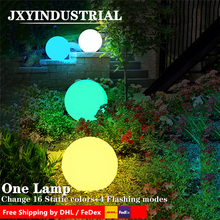 rechargeable ball waterproof/ free shipping 30cm Rechargeable waterproof illuminated led ball led orb led sphere free shipping magic rgb led ball outdoor diameter 20 cm rechargeable glowing sphere waterproof pool color changing light ball