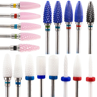 Milling Cutter For Manicure And Pedicure Mill Electric Machine For Nail Electric Nail Drill Bits Nail Art Mill Apparatus Feecy 1