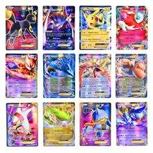 Pokemon 200 V MAX 300 GX najlepiej sprzedających się dzieci bitwa angielska wersja gra Tag zespół Shining Vmax TOMY Pokemon karty