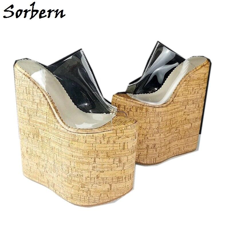 Sorbern Transparent Sandal Women Open
