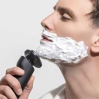 Cabeça de barbeador elétrico masculino 3 molhado seco barbeador barba barbeador recarregável mão sub dupla lâmina turbo modo moda|Barbeadores elétricos| |  -