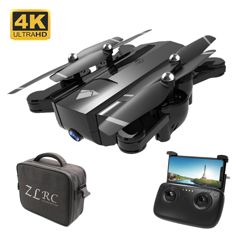 22 Mins SG900 X196 <font><b>F196</b></font> Selfie Quadcopter with Dual Camera HD 4K FPV WIFI Foldable Drone Optical Flow RC Helicopter Toy For Boys image