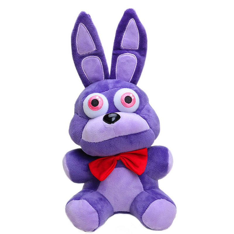 18cm FNAF Plush Toys Five Nights At Freddy's Purple Rabbit Bonnie Soft Animals Stuffed Toys Doll For Kids Children Gifts