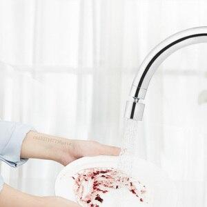 Image 3 - Youpin Diiib מטבח מגופים Aerator מים מפזר Bubbler אבץ סגסוגת מים חיסכון מסנן ראש זרבובית ברז מחבר כפול מצב