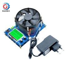 150W pil kapasitesi test cihazı voltmetre dijital ayarlanabilir sabit akım elektronik yük şarj USB ampermetre ölçer göstergesi ab