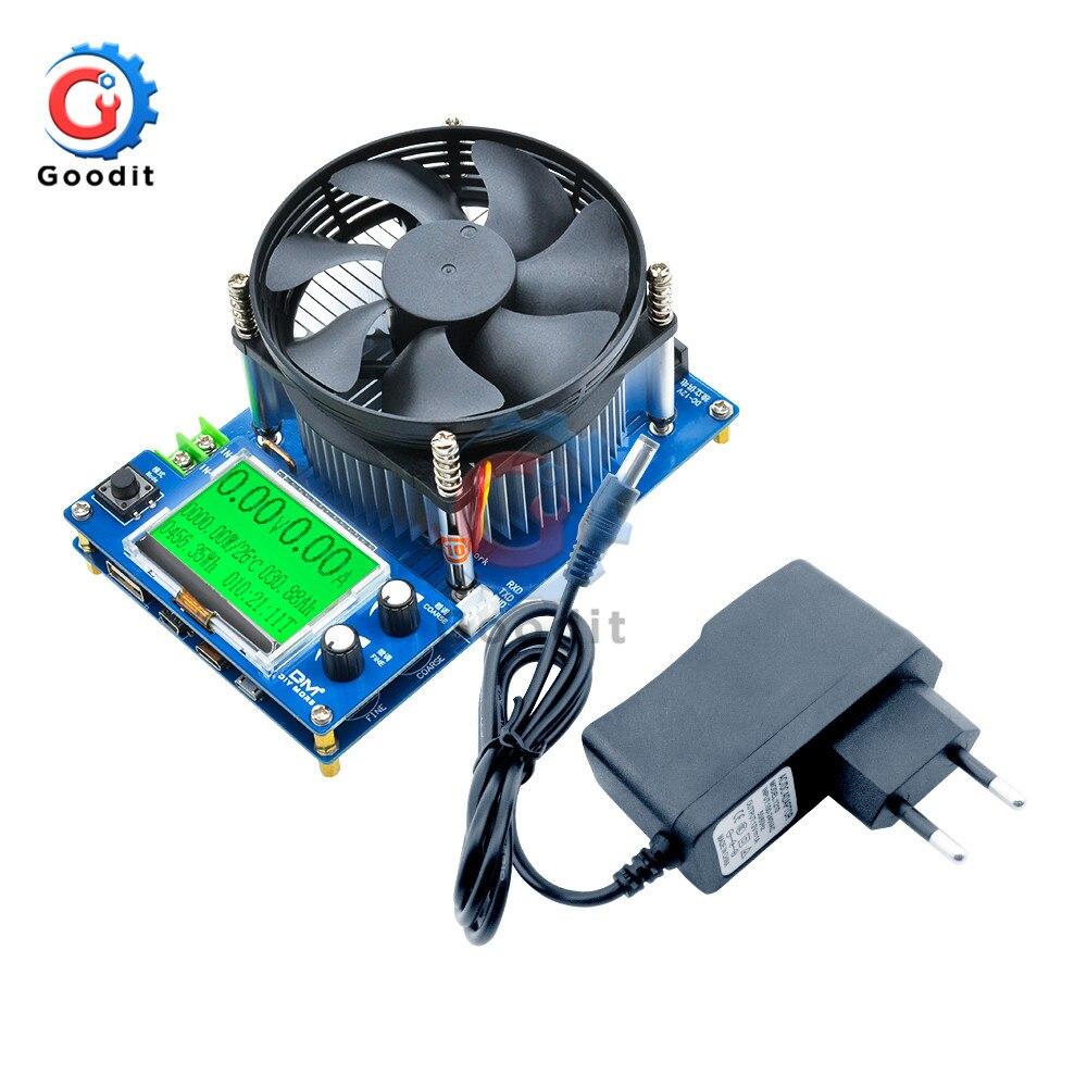 150W Corrente Constante Da Capacidade Da Bateria Digital Tester Voltímetro Ajustável Ameter Indicador medidor Eletrônico de Carga USB Carregador DA UE