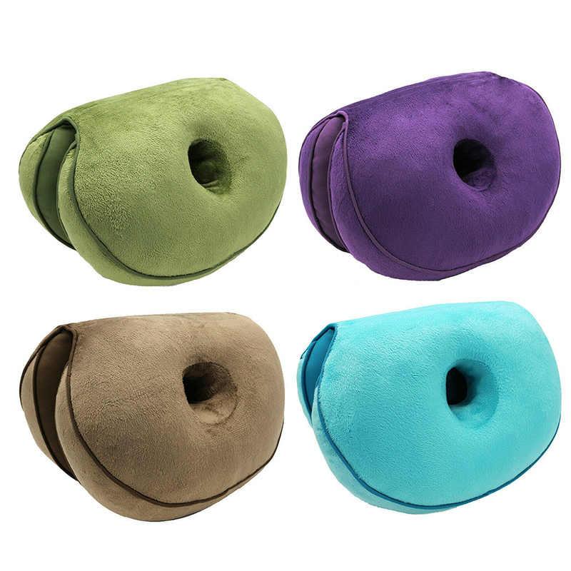 Multifunctional Dual Comfort Comfort โฟมหน่วยความจำ Hip Lift เบาะก้นสวยเบาะรองนั่งยาง Comfy สำหรับ Home
