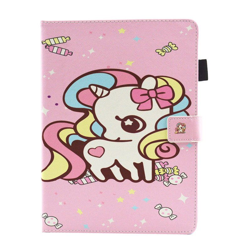 19 Navy Blue Cute Unicorn Cat Case For iPad 10 2 Case 2019 Tablet Cover For iPad 10 2