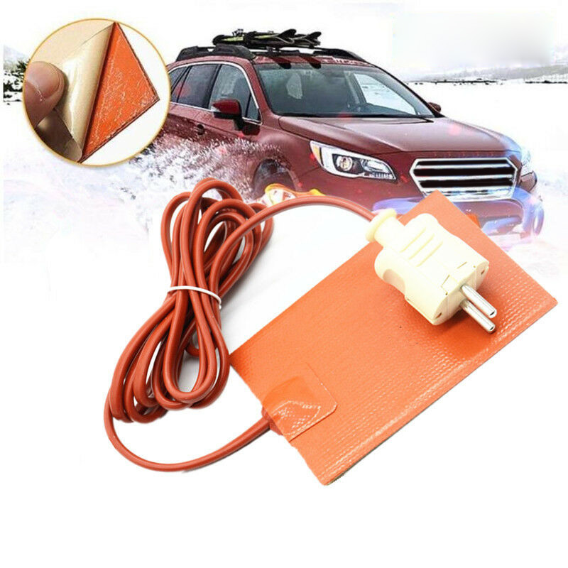 Car Heating Plate For Automotive Fuel Tanks Water Tanks Batteries Antifreeze Heat Insulation Car Decoration Accessories|RV Parts & Accessories| |  - title=