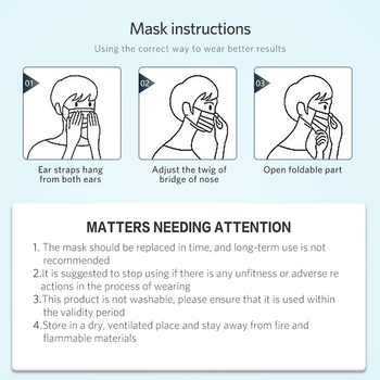 3 Layer Medical Respirator Disposable Mouth Masks