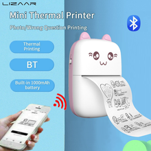 Pocket-Printer Photo-Picture Lable Thermal-Printing-Machine Office Bluetooth Mini Home
