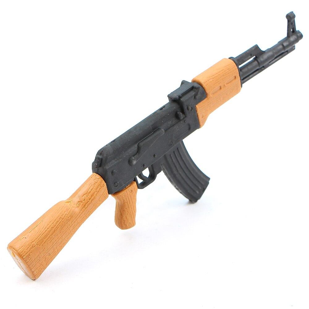 1Pcs Imulation AK47 Gun Pencil Eraser Boys Creative Personalized School Stationery Detachable EraserKids Cute Toy Gift Supplies