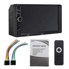 Multimedia-Player Rear-View-Camera Stereo Android Car Car-Radio Mp4 Bluetooth Rca-Support