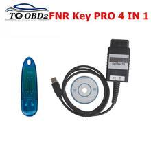 La última versión de FNR clave Prog 4 en 1 para Nissan para ford para Renault y Incode calculadora programador clave sin Pin código