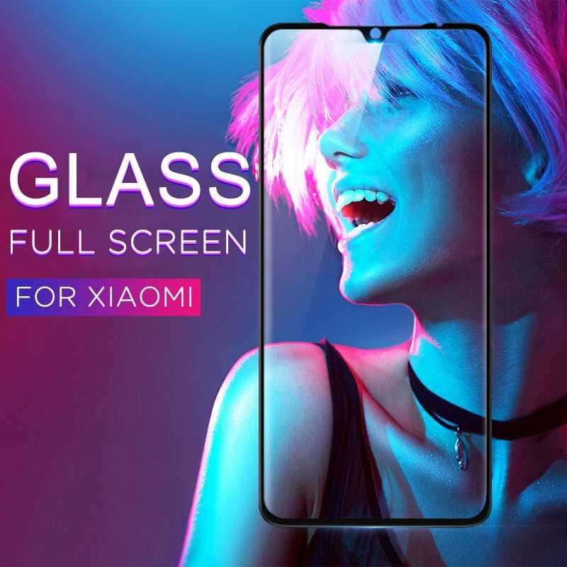 Tempered Glass untuk Xiao Mi Mi 9 Pro Mi A3 Mi 9 CC9 CC9E Mi 9 Se Max3 Mi 9T pro Pelindung Layar Kaca untuk Red Mi K20