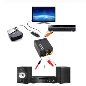 Image 2 - Coaxial Fiber Decoder Toslink Digital to Analog L/R RCA Jack Audio Converter 3.5mm Jack Optical  Channel Spdif Stereo For HDTV