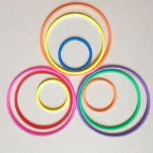 Производители поставки товаров ночной рынок стол квадратный бросок круг игрушка метание кольца твердые грубые круг рекламные