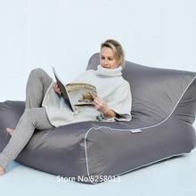 Двухкомнатное кресло человек Открытый Кресло-мешок, мебель, большой размер beanbag диван стул, синий плавающий шезлонг на воде