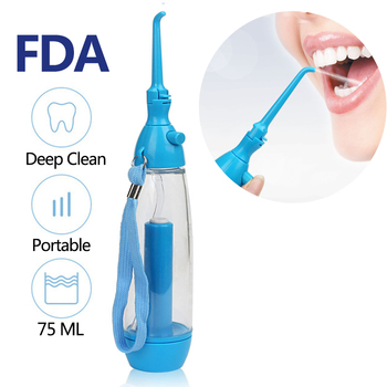 Portable Oral Irrigador Dental Hygiene Irrigation Water Flosser Jet Toothpick Nasal Irrigator Waterpulse Teeth Whitening Cleaner