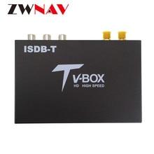 цена на Car Digital TV/TV BOX ISDB-T For Digital TV ISDB T TV Box Receptor