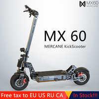 "The Newest Mercane MX60 Smart Electric Scooter 2400W 60km/h 100km foldabe Kickscooter Range 11"" Tire Dual Brake Long Skate Board"