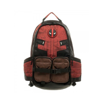 Deadpool backpack for school and travel 3