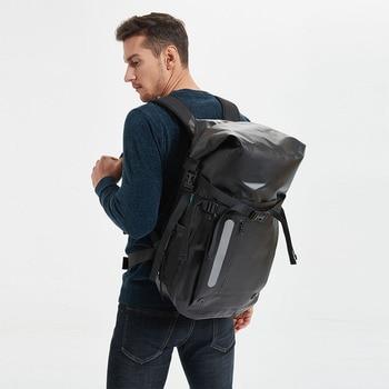 Waterproof bag Backpack PVC Super Waterproof bag 30L  Dry bag Swimming bag River trekking bag Camping Outdoor