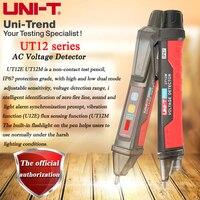 UNI T ut12e/ut12m/ut12d não contato detector de tensão ac; alto e baixo modo duplo ajustável sensível inteligente teste lápis 24 v 1000 v|ac voltage detector|voltage detector|uni-t ut12a -
