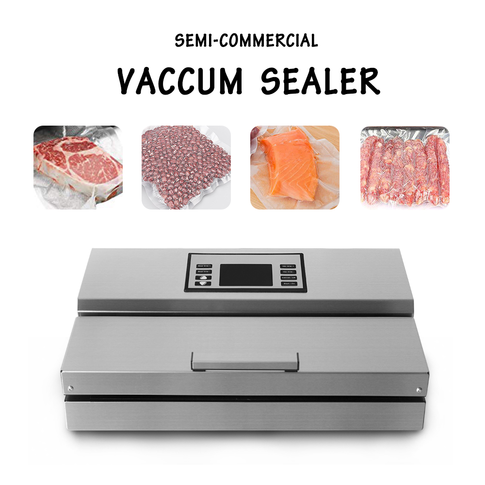 Image 2 - ITOP Home use Food Vacuum Sealer Packing Machine 30cm Length Semi automatic Electric Vacuum Sealers Food Processors-in Vacuum Food Sealers from Home Appliances