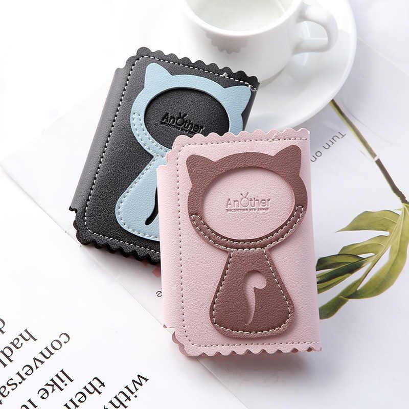 2019 estuche para llaves de coche de gato de moda de alta calidad para llavero, bolso organizador de llaves para llaves de mujer, 6 Llaveros, bolsa