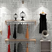 10 м x 053 Ретро Газета нетканые обои для спальни гостиной офиса