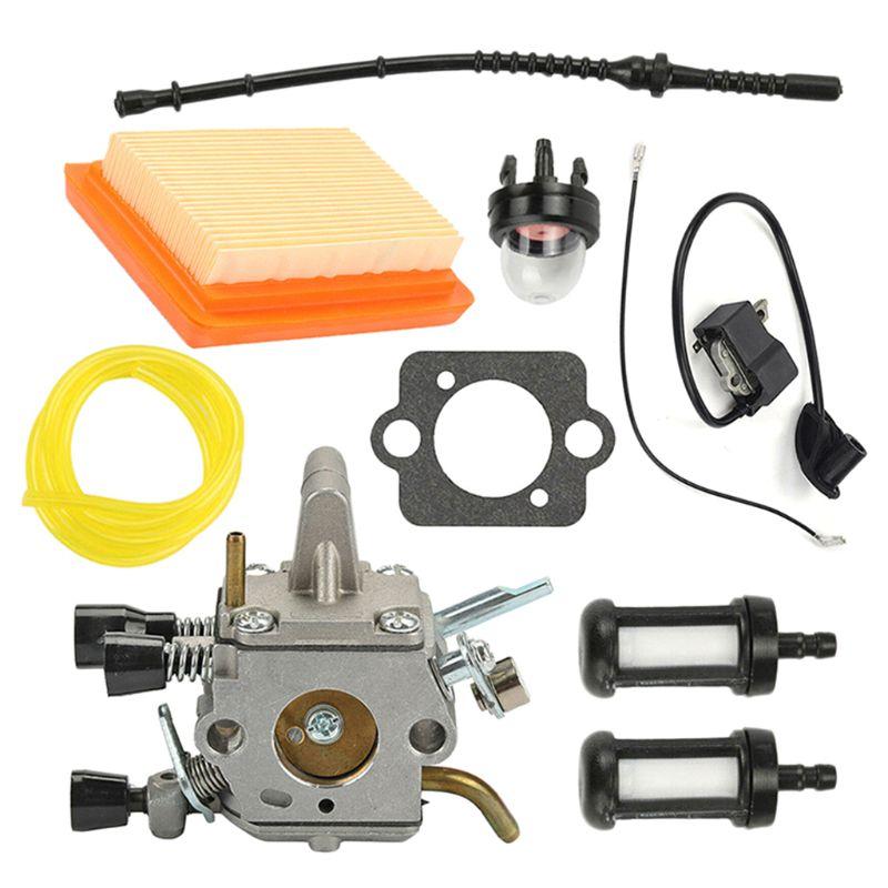 For Stihl FS120 FS200 FS250 FS250R FS350 Trimmer Brushcutters Carburetor Kit C90A